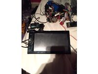 Sony double din DVD player