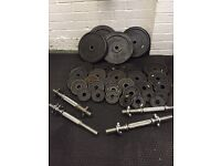 Bench , weights & bars
