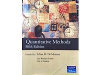 FREE Quantitative Methods - uni textbook