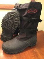 Grizzly snow boots men's size 13