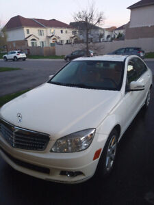 Mint Mercedes C250 AWD for sale leaving the city