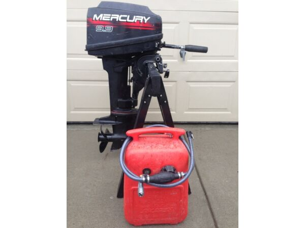 Used 2004 Mercury 9.9 Short Shaft