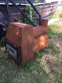 Smoker or wood burner stove