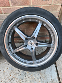 "Bk 19"" alloy wheels 5x120 just been Taken off my vw t5"
