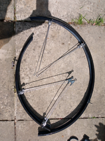 SKS Mudguards front and rear for 26 in wheel hybrid bicycle