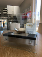 3 ETHANOL FIRE PLACES - Stainless Steel & Glass (Set) with Fuel