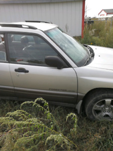 Subaru Forester limited parts car