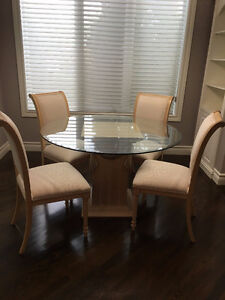 Moving out sale. Excellent condition Dining Table with 4 chairs