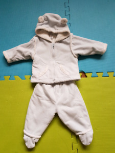 Fall or winter jacket and pants size 6 to 12 month