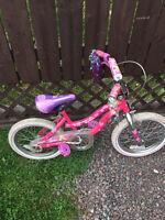 Girls bike in mint condition