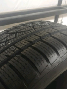225 55 17 snow tires like new
