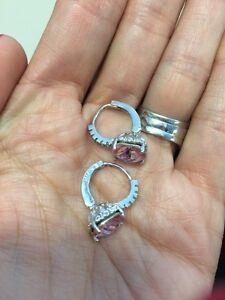 Cute silver earrings  London Ontario image 4