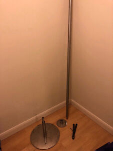 DANCING POLE! Comes with wrench and all the pieces