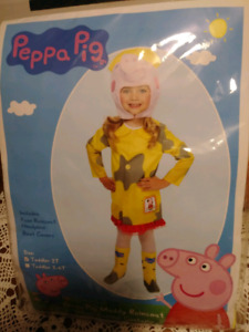 Toddler 2T Peppa Pig Muddy Puddles Halloween Costume