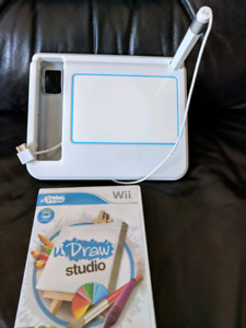 Wii uDraw Studio with Tablet and Game