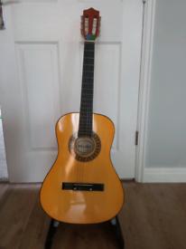 3/4 sized guitar