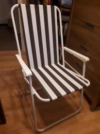 Folding patio/camping/garden chair, good condition.