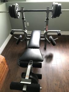 Weider 137 Pro Weight Bench