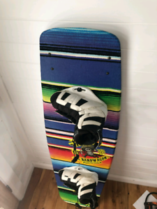 Ronix el bandwagon wakeboard