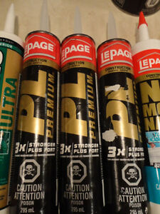 All New Tubes Of Lepage and Mono Adhesives and Sealants $4 plus Kitchener / Waterloo Kitchener Area image 6