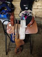 "15"" western saddle for sale"