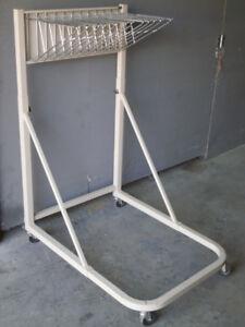 Safco Mobile Blueprint File Hanging Stand Plan Holder .........
