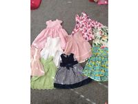 Baby girl summer dress bundle 12-18 months *10 dresses*