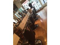 Barber chairs for sale x4 can be sold separately