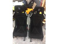 Genuine sparco racing seats (volkswagen,golf,bora,Jetta,passat)