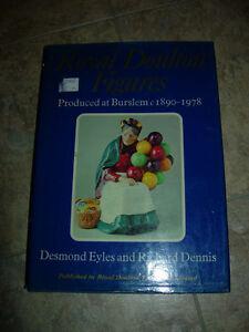 ROYAL DOULTON FIGURINES 1890-1978 big hardcover coffeetable book