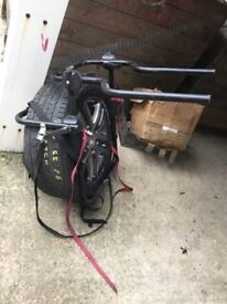 Bike carrier for 4x4 jeep