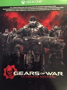 Reduced Gears of War download. XBOX One Regina Regina Area image 1
