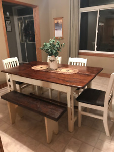 Rustic Dining Room Furniture set