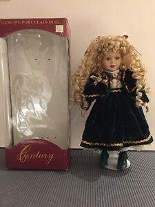 Genuine Porcelain Doll - Century Collection - hand painted West Island Greater Montréal image 2