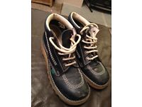 Kickers boots size 4