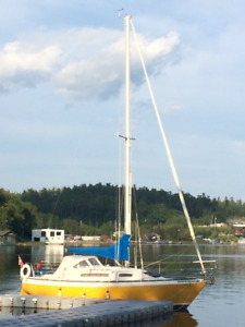 27 ft sailboat for sale