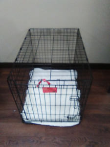 Dog Crate with Tray--for small to medium size dogs