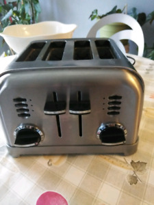 Cuisinart Toaster and kettle,stainless steel,Milton ON