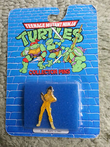 April O'Neil TMNT Collector Pin