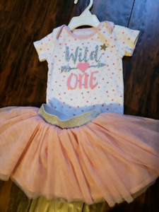 """""""Wild One"""" first birthday outfit"""
