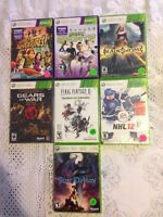 Xbox 360 SEALED video games