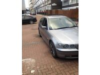 BMW 318 compact, year 2003. £650 ONO. Grey. (not Vauxhall, Vw,Ford, Merc, Audi)