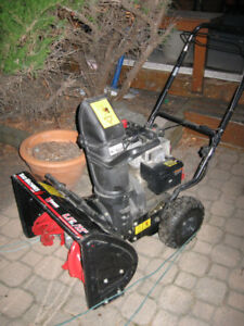 "5.5 HP 22"" 2  Stage Snowthrower Elec Start"