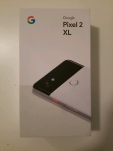 Google Pixel 2XL 128 GB Just White Unlocked BNIB