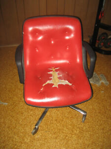 Vintage roller chair - chaise roulette
