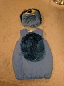 Pottery Barn Kid's Monster Costume -  Blue (like-new)