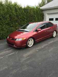 2008 Honda civic Si Berline