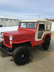1954 Willys High Hood Jeep