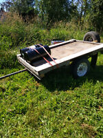 Jeep and 6x8 trailer available to haul your items