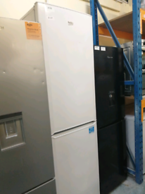 Beko very tall fridge freezer white 3 months warranty at Recyk